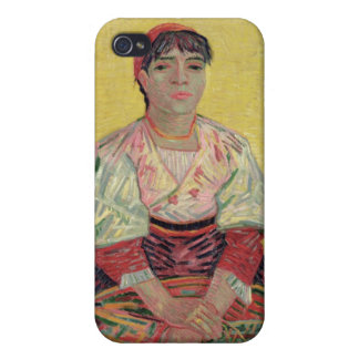 Vincent van Gogh | The Italian: Agostina Segatori Cover For iPhone 4