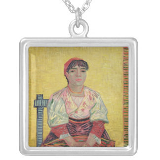 Vincent van Gogh | The Italian: Agostina Segatori Silver Plated Necklace