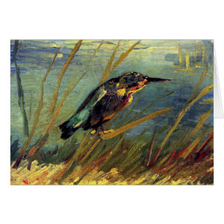 Vincent Van Gogh - The Kingfisher - Bird Lover Art Card