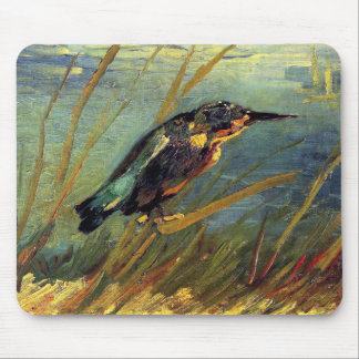 Vincent Van Gogh - The Kingfisher - Bird Lover Art Mouse Mat