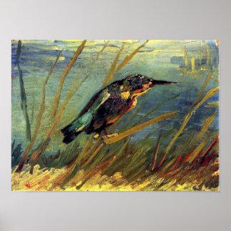 Vincent Van Gogh - The Kingfisher - Bird Lover Art Poster