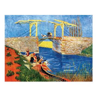 Vincent Van Gogh - The Langlois Bridge At Arles Postcard