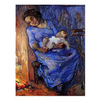 Vincent Van Gogh - The Man Is At Sea Fine Art Postcard