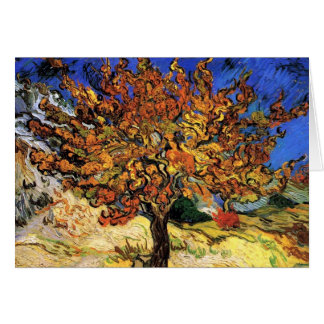Vincent Van Gogh - The Mulberry Tree Fine Art Card
