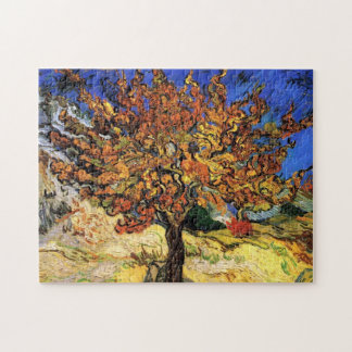Vincent Van Gogh - The Mulberry Tree Fine Art Jigsaw Puzzle