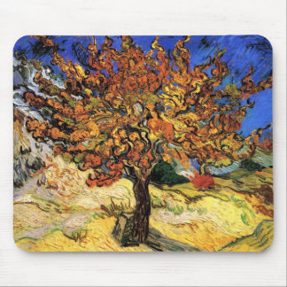 Vincent Van Gogh - The Mulberry Tree Fine Art Mouse Mat