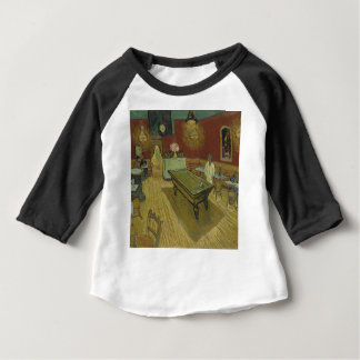 Vincent Van Gogh The Night Cafe Painting Art Work Baby T-Shirt