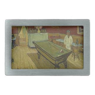 Vincent Van Gogh The Night Cafe Painting Art Work Belt Buckle