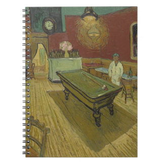 Vincent Van Gogh The Night Cafe Painting Art Work Note Book