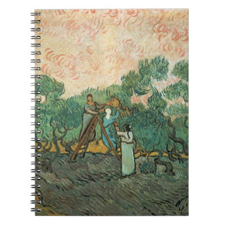 Vincent van Gogh | The Olive Pickers, Saint-Remy Spiral Notebook
