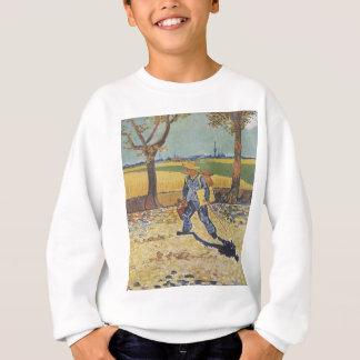Vincent Van Gogh - The Painter on his Way to Work Sweatshirt