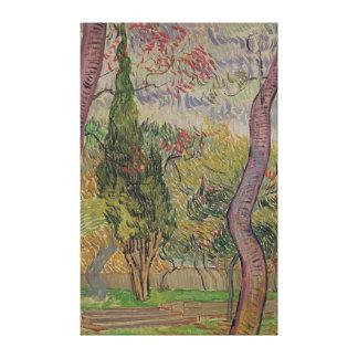 Vincent van Gogh | The Park at the Saint-Paul Canvas Print