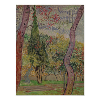 Vincent van Gogh | The Park at the Saint-Paul Poster