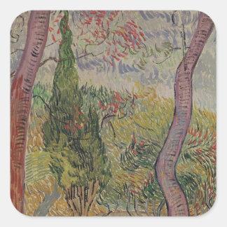 Vincent van Gogh | The Park at the Saint-Paul Square Sticker
