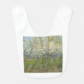 Vincent Van Gogh The Pink Orchard -Floral Painting Bib