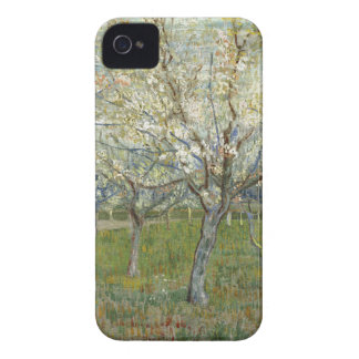 Vincent Van Gogh The Pink Orchard -Floral Painting iPhone 4 Case-Mate Case