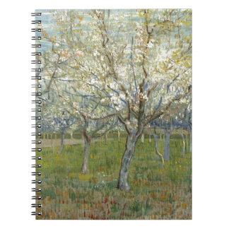 Vincent Van Gogh The Pink Orchard -Floral Painting Notebooks
