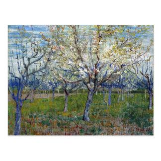 Vincent van Gogh The Pink Orchard Postcard