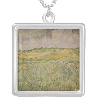 Vincent van Gogh | The Plain at Auvers, 1890 Silver Plated Necklace