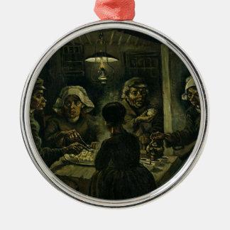 Vincent Van Gogh The Potato Eaters Painting. Art Christmas Ornament