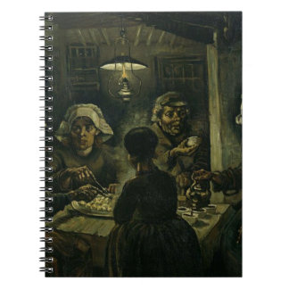 Vincent Van Gogh The Potato Eaters Painting. Art Note Books