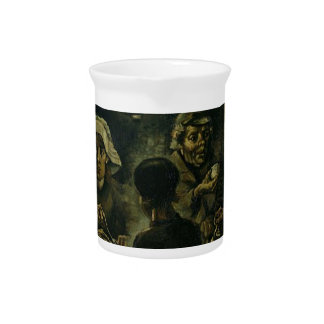 Vincent Van Gogh The Potato Eaters Painting. Art Pitcher
