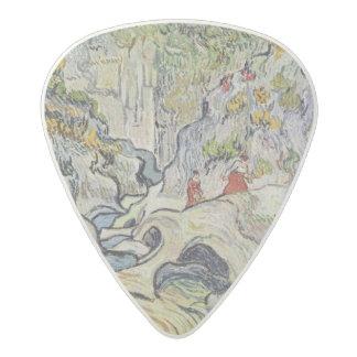 Vincent van Gogh   The ravine of the Peyroulets Acetal Guitar Pick