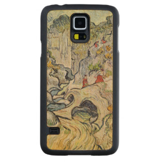 Vincent van Gogh | The ravine of the Peyroulets Carved Maple Galaxy S5 Case