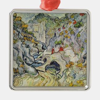 Vincent van Gogh | The ravine of the Peyroulets Christmas Ornament