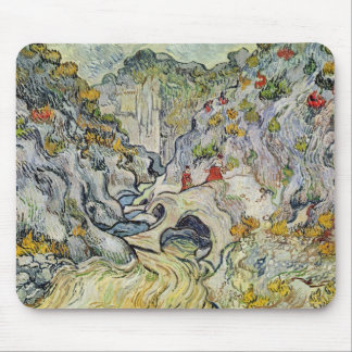Vincent van Gogh | The ravine of the Peyroulets Mouse Pad