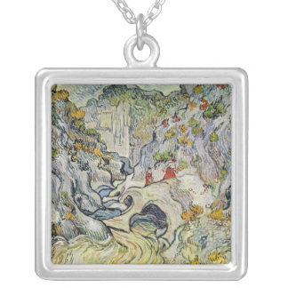 Vincent van Gogh | The ravine of the Peyroulets Silver Plated Necklace