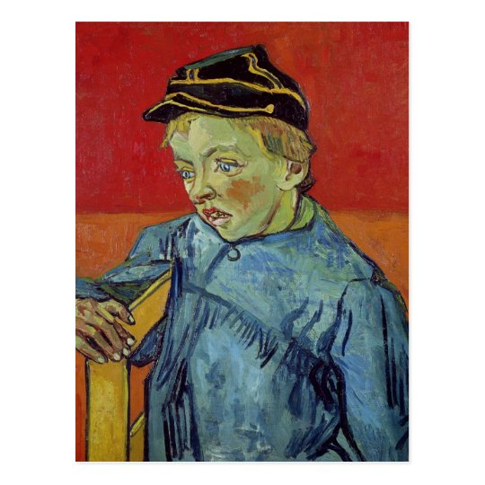 Vincent van Gogh | The Schoolboy, 1889-90 Postcard
