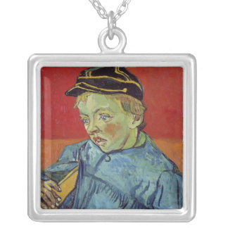 Vincent van Gogh | The Schoolboy, 1889-90 Silver Plated Necklace