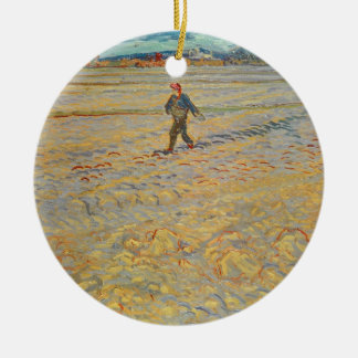 Vincent van Gogh | The Sower, 1888 Round Ceramic Decoration