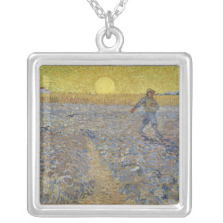Vincent Van Gogh - The Sower Personalized Necklace