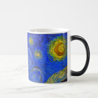 Vincent van Gogh - The Starry Night (1889) Morphing Mug