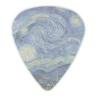 Vincent van Gogh   The Starry Night, June 1889 Acetal Guitar Pick