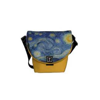 Vincent van Gogh | The Starry Night, June 1889 Courier Bag