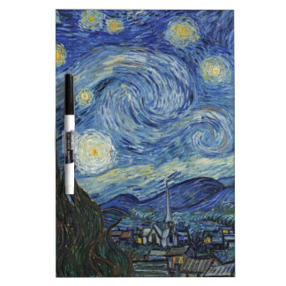 Vincent van Gogh | The Starry Night, June 1889 Dry Erase Board