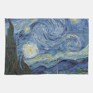 Vincent van Gogh | The Starry Night, June 1889 Kitchen Towels