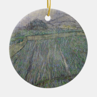 Vincent van Gogh | The Thunder Storm Christmas Ornament