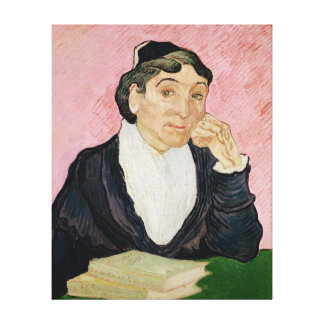 Vincent van Gogh | The woman from Arles Canvas Print