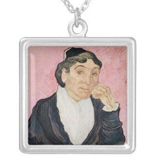 Vincent van Gogh | The woman from Arles Silver Plated Necklace