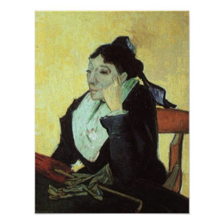 Vincent Van Gogh - The Woman of Arles Poster