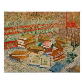 Vincent van Gogh | The Yellow Books, 1887 Poster