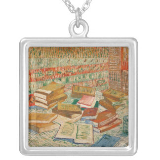 Vincent van Gogh   The Yellow Books, 1887 Silver Plated Necklace