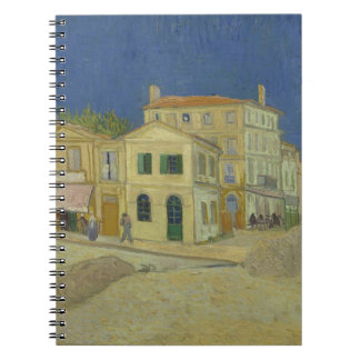 Vincent Van Gogh The Yellow House Painting Notebooks