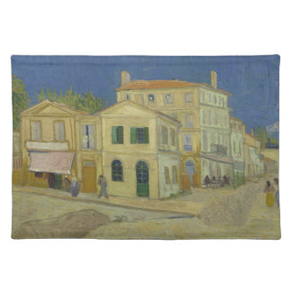 Vincent Van Gogh The Yellow House Painting Placemat