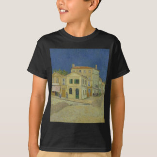 Vincent Van Gogh The Yellow House Painting T-Shirt