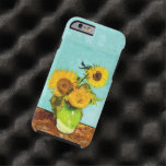Vincent Van Gogh Three Sunflowers In A Vase Tough iPhone 6 Case